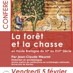 affiche conference chasse